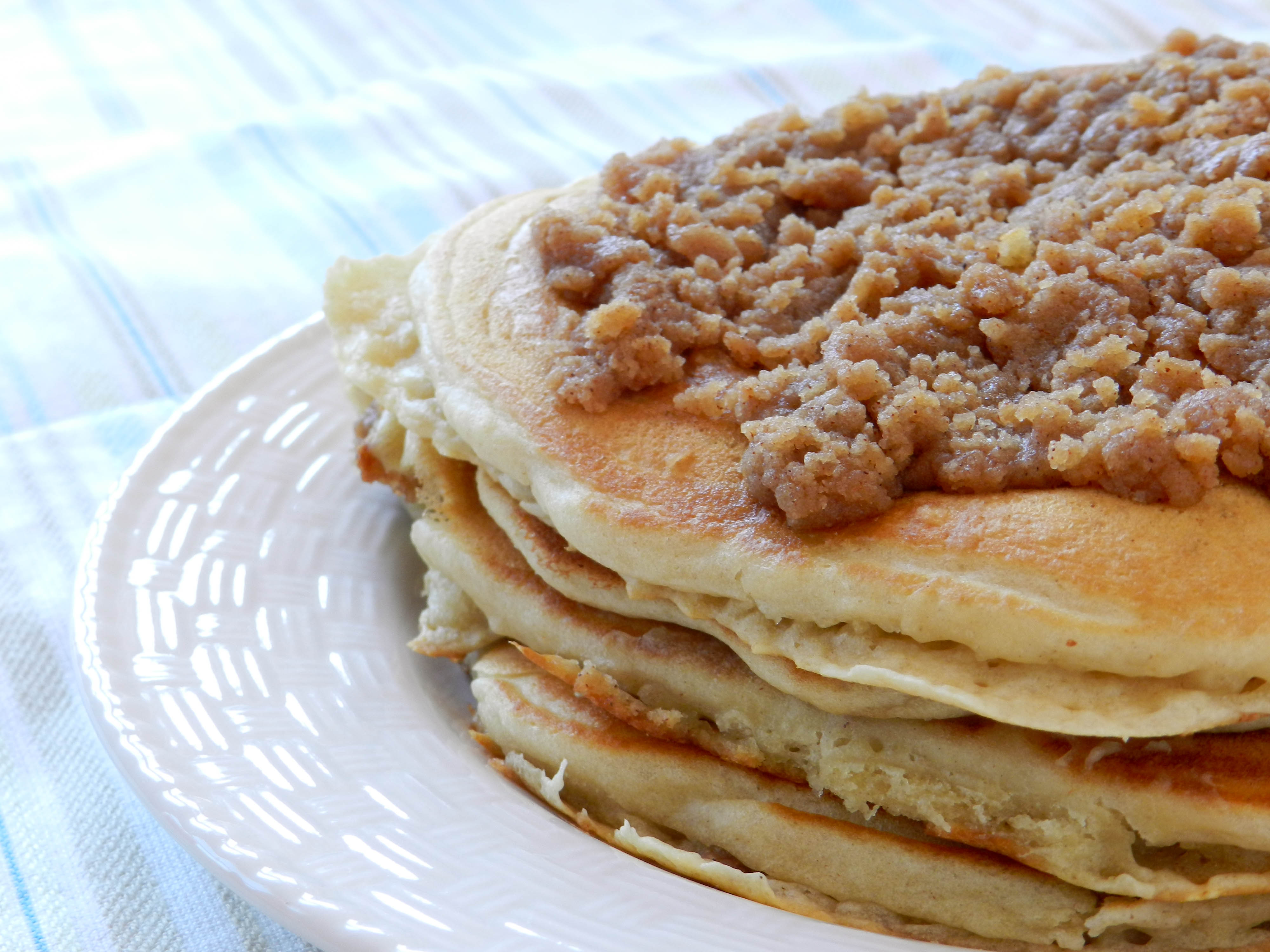 ... Pancake Week! Forget Mardi Gras! Let's eat pancakes all week because