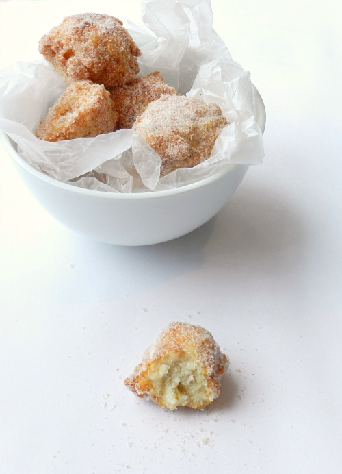 Brown Butter Donut Holes | Kids in the Sink
